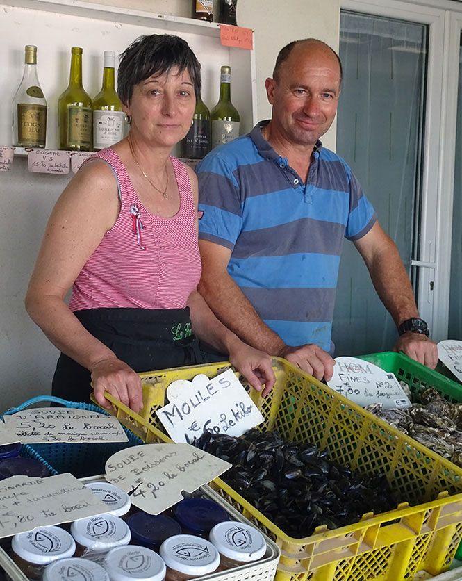 Jean-Yves Héraud, producteur d'huîtres Marennes Oléron